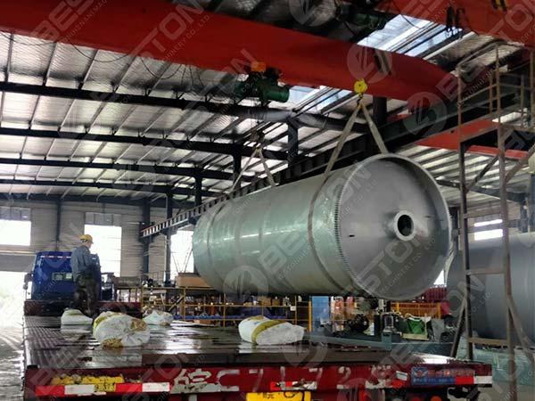 Reactor of Beston BLJ-12 to Nigeria